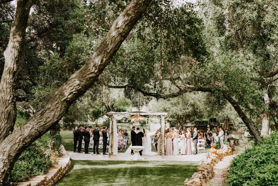 40 Los Willows Fallbrook Wedding Venues Southern California San Diego