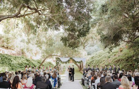 Ceremony NicoleBrandon MakennaBryleePhotography 2019 LosWillows